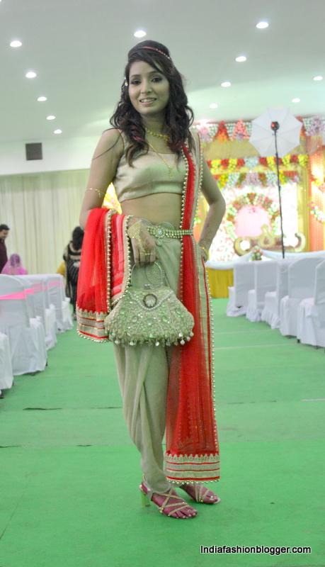 gold dhoti