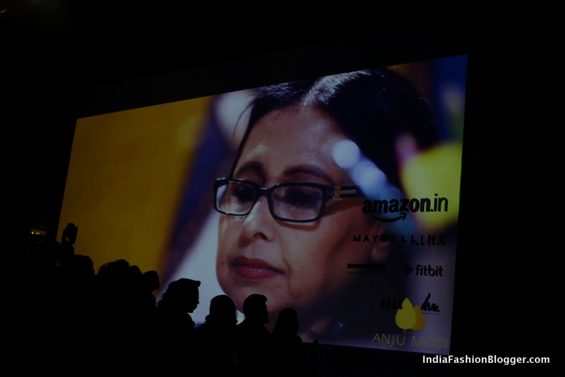 Anju Modi's AV begins Pearl Academy's #BeSomebody talk at AIFW 2016