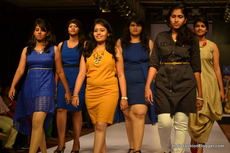 Bangalore Fashion Week Students