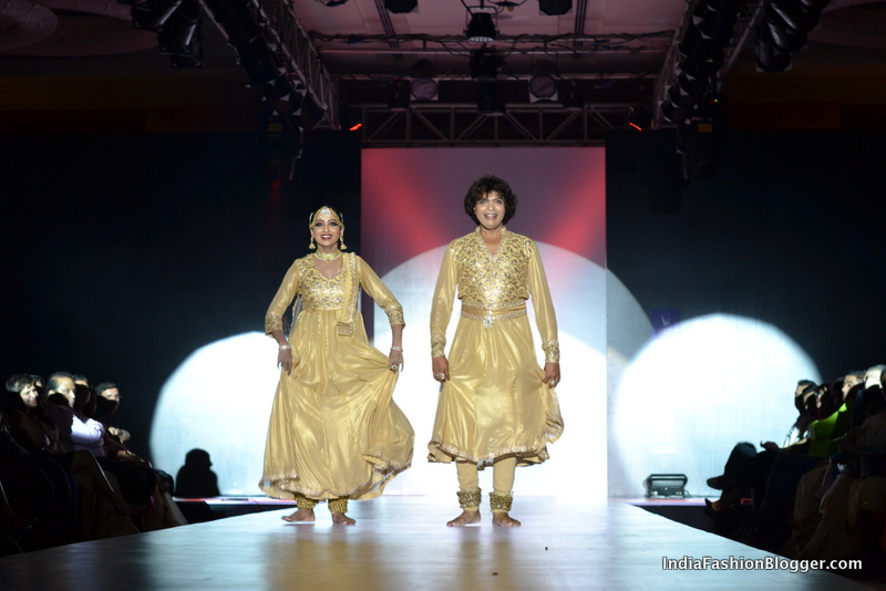 gaurang shah bangalore fashion week dancers