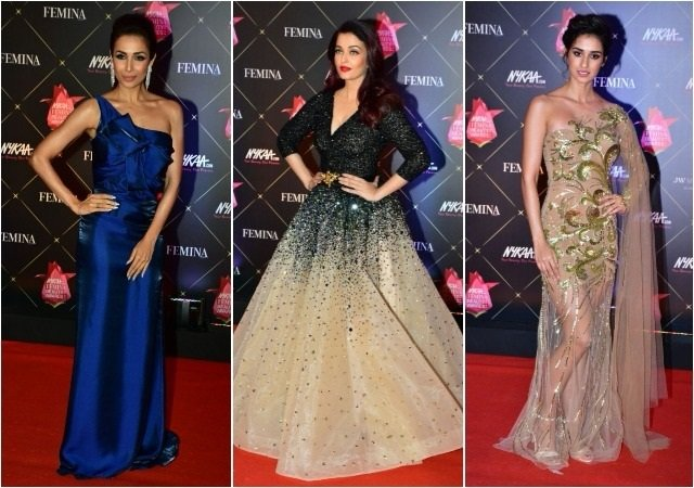 10 Best Dressed @ Nykaa Femina Beauty Awards 2018
